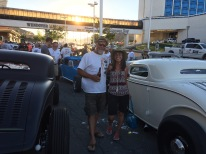 Us at the Nugget car show in Nevada