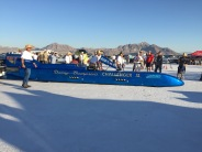 Record breaking race car