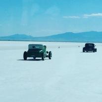 Driving on the Salt